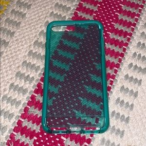 TECH21 turquoise clear iPhone 7plus case